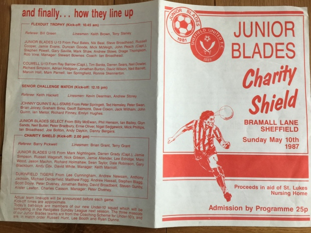 Junior blades leaflet